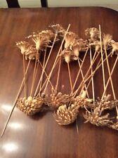 Balsa Wood Sola Jasmine Sakura Flowers Diffusers Handmade Aroma Spa LOT 20