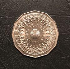 1977 Queen's Silver Jubilee 50c coin UNC