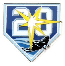 Tampa Bay Rays 20th Anniversary Pin - Limited Edition 500