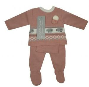 Baby girls clothes Spanish style knitted 3 piece sheep set 3 6 12 months