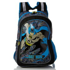 NEW OFFICIAL DC Comics Batman Boys Kids Large Backpack Rucksack School Bag
