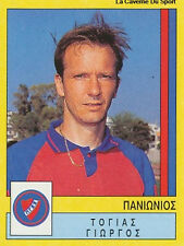 N°295 TOGIAS PANIONIOS GSS GREECE PANINI GREEK LEAGUE FOOT 95 STICKER 1995