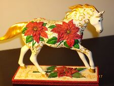 TRAIL OF PAINTED PONIES - POINSETTIA PONY