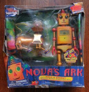 Nova's Ark - Nova & Sparky Deluxe Robot Creation Set by Trendmasters (1999)