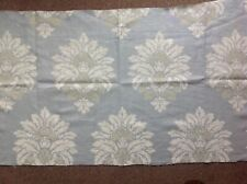 "COLEFAX AND FOWLER CURTAIN FABRIC ""BUCKLAND"" 85CM AQUA 100% LINEN"