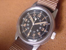 Vintage Waltham U.S. Military Issue Wrist Watch .... Type A 17 .... Cal. 6/0 - D