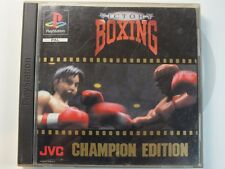 !!! PLAYSTATION PS1 SPIEL Victory Boxing, gebraucht aber GUT !!!