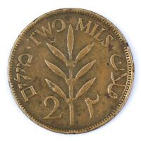 2 MILS 1927,RARE PALESTINE BRITISH RULE COINS, Antique coin