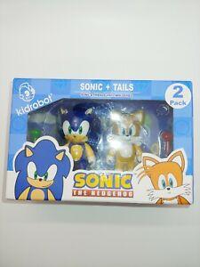 Kidrobot Sonic The Hedgehog - Sonic & Tails Vinyl Friends Collectors Toy