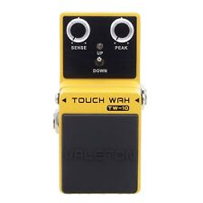Valeton Touch Wah Mini Wah Pedal Guitar Effect Pedal Buffer Bypass Zinc-alloy