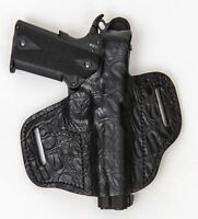 On Duty Conceal RH LH OWB Leather Gun Holster For Desert Eagle 357 45 50