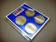 Vintage 1982 Canadian Ville De Quebec Carnaval Monument Dollar 4 Coin Set