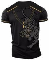 Men's Cotton designer t shirt,Italian style,slim fit,stretch S,M,L,XL,2XL.A11