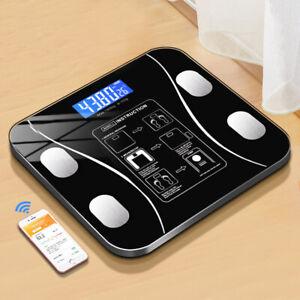 Digital Smart Body Fat Scale BMI Analyzer Weight Health Fitness Bone Mass Muscle