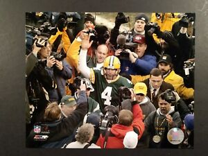 BRETT FAVRE Green Bay Packers LAST GAME AT LAMBEAU FIELD 8X10 PHOTO #3