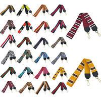 Wide Boho Shoulder Purse Strap Replacement Crossbody Handbag Guitar Belts 105cm