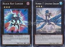 Authentic Reginald Kastle Deck - Leviathan Dragon - Black Ray 43 Cards - Yugioh