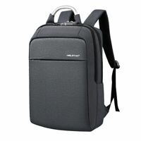 Men Laptop Backpack 15.6in Anti Theft Fashion Business School Computer Bag USB
