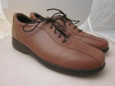 Munro Shoes American Lace Up Oxford USA Womens Size 10.M - NEW Brown Leather