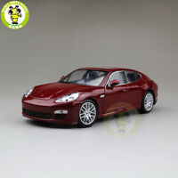 1/24 Porsche Panamera S Welly 24011 Diecast Model Car Red