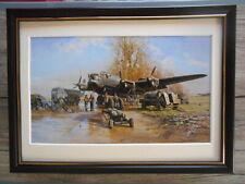 David Shepherd Aircraft print 'Somewhere In England' FRAMED