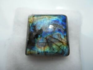 A Labradorite cabochon for jewellery making Square 18x8.2mm