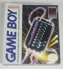 Vintage Nintendo Gameboy Rechargeable Battery Pack AC Adapter Box
