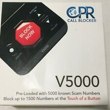 Cpr V5000 Call Blocker Pre-loaded with 5000 Robocall Scams Landline