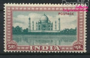 India 204 with hinge 1949 Monuments (8882690