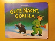 Gute Nacht, Gorilla von Peggy Rathmann / Pappbilderbuch