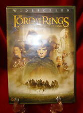 DVD - The Lord of the Rings: The Fellowship of the Ring (Widescreen / 2001)