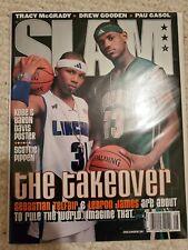 Lebron James SLAM Magazine 1st Cover With Sebastioan Telfair