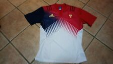 Maillot Adidas authentique FRANCE FFR Rugby. Taille L.