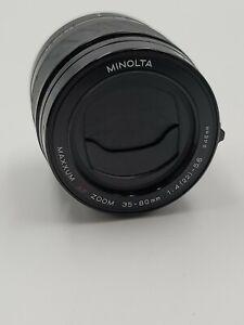 Minolta Maxxum AF Zoom 35–80mm 1:4 (22) - 5.6 Lens 46mm