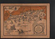N°6326 / catalogue touristique horaire et tarif des circuits nord africain 1929