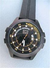 "NEW MARC ECKO MEN'S ""The E-GO Date"" Black Watch E12583G3"