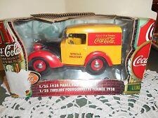 Coca Cola 1938 Panel Van Bank NIB