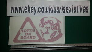 Rottie on Board. car,lorry,dog carrier,rottweiler