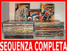 lotto SUPERMAN 1/62 SEQUENZA COMPLETA Play Press 1993