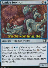 2x Riptide Survivor (Springflut-Überlebender) Commander 2014 Magic