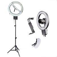 Studio 40W 5400K Ring Lamp w/ Diffuser Sock+Camera Bracket+90cm Light Stand 110V