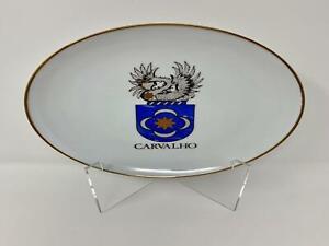 Belporce Porcelain Plate, Coleccao De Brasoes De Familias Portuguesas, Late 20th