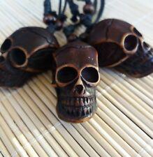 Collar caravela necklace Calavera Colgante craneo skull cabeza esqueleto punk