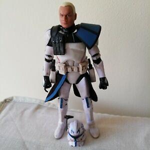 "Star Wars Black Series Clone Captain Rex 6"" - No Box"