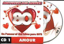 CD CARDSLEEVE 80's AMOUR 18T LOVE MOOR/LALANNE/DEBUT DE SOIREE/DELON/JANNOT/NACA
