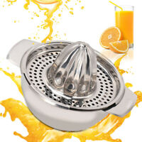 LEMON LIME FRUIT JUICER HAND PRESS JUICER SQUEEZER JUICE JUG JAR