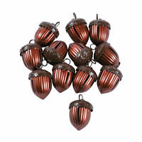 Acorn-Shaped Jingle Bells - Craft Supplies - 12 Pieces