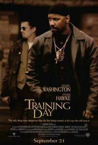 Training Day Movie POSTER 27 x 40 Denzel Washington, Ethan Hawke, A