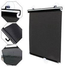 Car SunShade Cover Retractable Side Window Curtain UV Protect Coverage Black