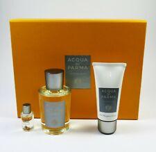 Acqua Di Parma Colonia PURA 100 ml Eau de Cologne + 5ml EDC + 50ml Shower Gel